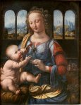 leonardo da vinci madonna of the carnation