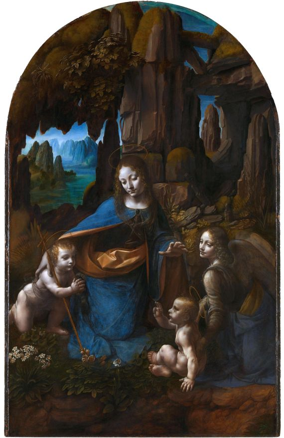 Leonardo da Vinci Virgin of-the-Rocks National Gallery London